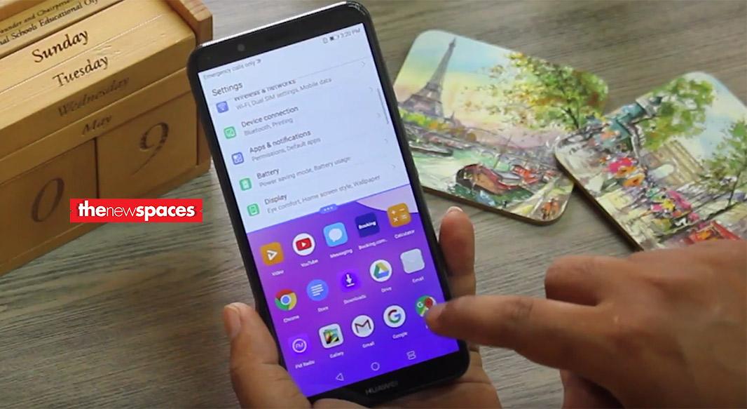 Unboxing Huawei Y7